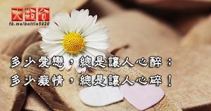 多少愛戀,總是讓人心醉;多少癡情,總是讓人心碎!